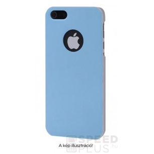 Dual Color Matt Case világoskék-szürke hátlap tok Apple iPhone 5/5S