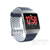 Fitbit Ionic Adidas Edition Watch okosóra , S & L, Ink Blue & Ice Gray / Silver Gray
