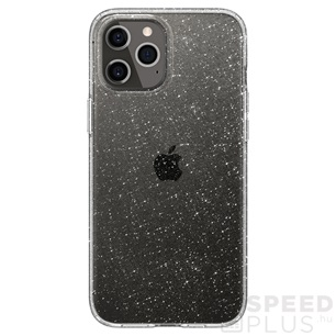 Spigen Liquid Crystal Glitter Apple iPhone 12 Pro Max Crystal Quartz tok, átlátszó