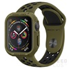 Spigen Rugged Armor Apple Watch S4/S5/S6/SE 40mm Olive Green tok, zöld, szíj nélkül
