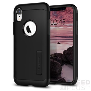 Spigen SGP Slim Armor Apple iPhone Xr Black hátlap tok
