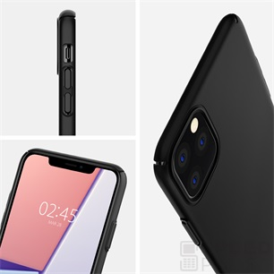 Spigen Thin Fit Air Apple iPhone 11 Pro Black tok, fekete