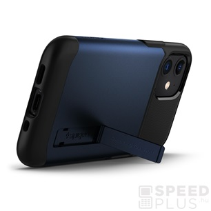 Spigen Slim Armor Apple iPhone 12 mini Navy Blue tok, kék